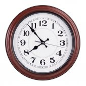 Five to eight on a clock face — Stock Photo