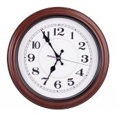 Five minutes to seven on a clock — Stock Photo