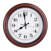 Eight hours on a round dial — Stock Photo