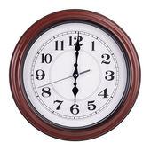 Altı saat yuvarlak saat — Stok fotoğraf