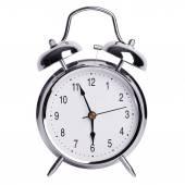 Five to six on an alarm clock — Stock Photo