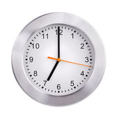 Сlock shows exactly seven o'clock — Stock Photo
