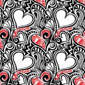 Love Valentine seamless pattern — Vecteur
