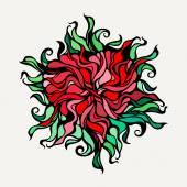 Heart symbol of eternal love — Stock Vector