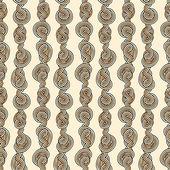 Rep trassliga seamless mönster — Stockvektor