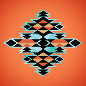 Navajo aztec textile inspiration pattern. Native american indian — Stock Vector