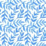 Spring leaves seamless watercolor pattern-model for design of gi — Stock Vector #71359957