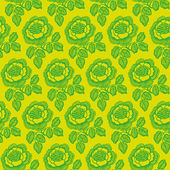 Vintage seamless floral pattern. — Stock Vector