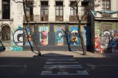 Murals of Barrio Yungay — Stock Photo