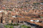 Plaza de Armas in Cusco — Stock Photo