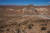 Canyon in the Altiplano — Stock Photo