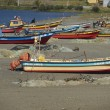Постер, плакат: Fishing Boats on the Beach