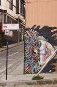 Urban Art of Valparaiso — Stock Photo