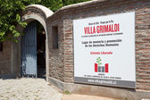 Villa Grimaldi — Stock Photo