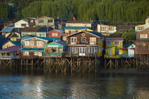 Palafitos of Chiloé — Stock Photo