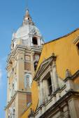 Historic Cathedral in Cartagena — Stock Photo