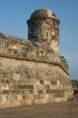 Fortifications of Cartagena — Stockfoto