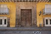 Colourful Buildings in Cartagena de Indias — Foto Stock