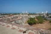 Castle of San Felipe De Barajas — Stock Photo