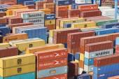 Container Port — Stock Photo