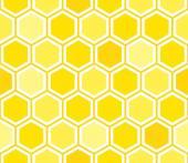 Honeycomb seamless pattern — Stock Vector