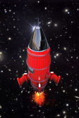Space rocket — Stock Photo