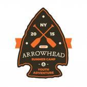 Arrowhead sign — Stock Vector