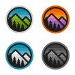 Mountain badges — Stock Vector #74268039