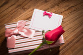 Gift of love — Stock Photo