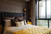Luxusní ložnice — Stock fotografie