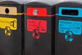 Rubbish receptacles — Stock Photo