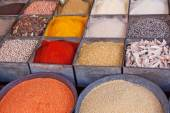 Spices in a market in Rajasthan, India — Stock Photo