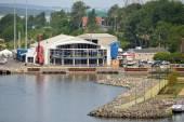 Joan Harriss Cruise Pavilion - Sydney Nova Scotia — Stock Photo