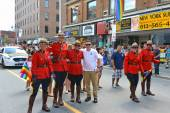 RCMP in Gay Pride Parade Ottawa — Stock Photo