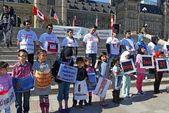 Hazara protest in Ottawa — Stock Photo