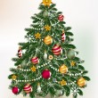 Christmas tree — Stock Vector #52604629