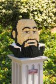 Legoland luciano pavarotti — Stockfoto