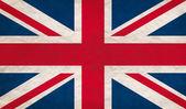 Grungy UK flag — Stock Photo