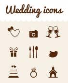 свадебные символы — Стоковое фото