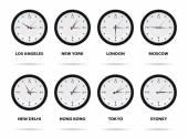 Time Zone World — Stock Photo