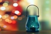 Glass lantern — Stock Photo