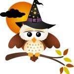 Halloween Owl — Stock Vector #53130499
