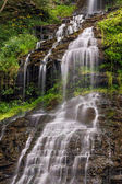 Cascading Cathedral Falls — Stock Photo