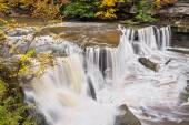 Waterfall on Tinkers Creek — Stock Photo