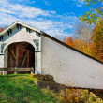 Richland Creek Covered Bridge — Stock Photo #56966255