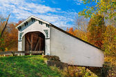 Richland Creek Covered Bridge — Stock Photo