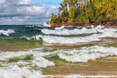 Lake Superior Surf — Stock Photo