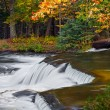 Waterfall in Autumn Forest — Stock Photo #57627245
