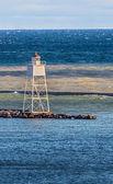 Grand Marais Harbor Inner Range Light — Stock Photo