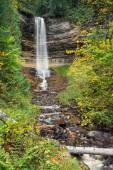 Munising Falls at Pictured Rocks — Stock Photo